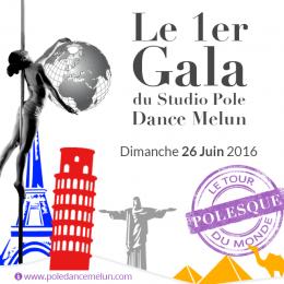 1er Gala Pole Dance Melun JUIN 2016